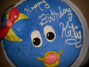 Cake for Katy by Annie, Pablo backyardigans