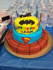 Cake, superheros cake by Annie for Liam