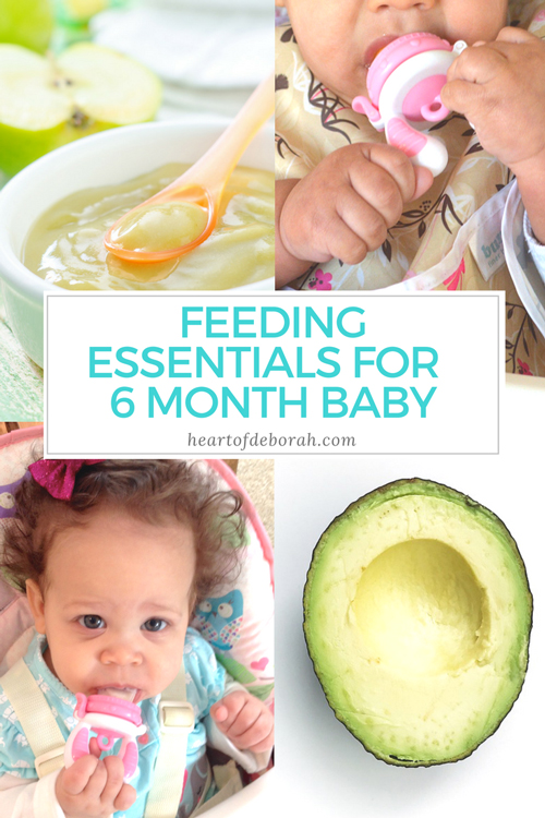 Fresh Food 6 Month Old Baby