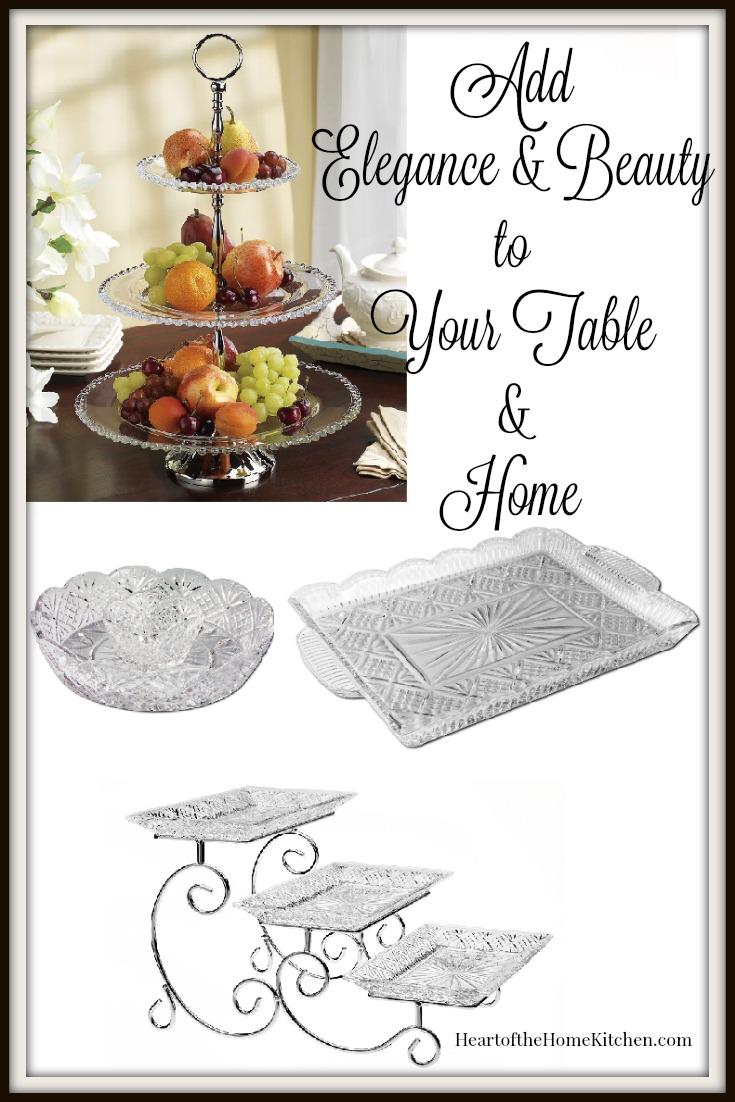 Crystal Trays & Platters