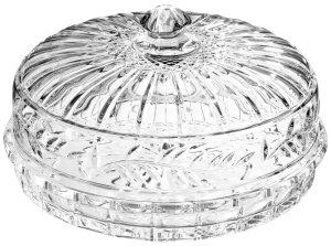 Crystal pie plate