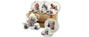 Alice in Wonderland Teapots and Tea Sets