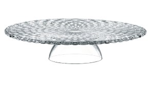 Crystal Cake Plate