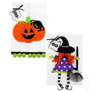 Magnificent Halloween Towels For The Kitchen Bathroom Heart Of The Home Interior And Landscaping Eliaenasavecom