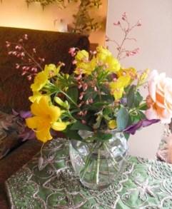 Garden flowers from Joy
