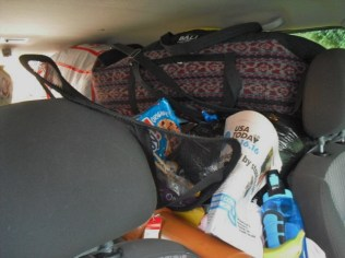 packed car-front