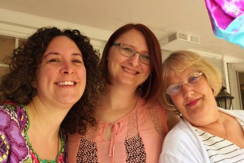 Shower-Megan, Liz, Betty