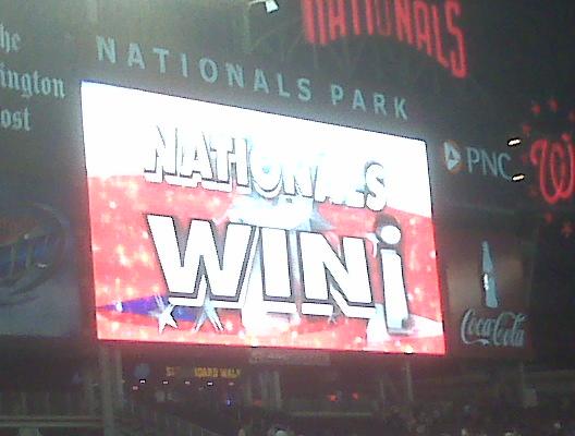 Nationals Win!