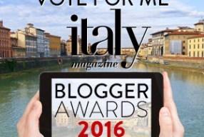 Help HeartRome Win: 2016 Italy Magazine Blogger Awards