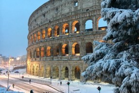 The day it snowed in Rome