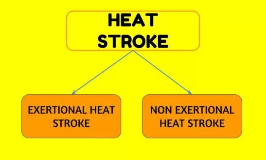 TYPES OF HEAT STROKE