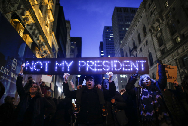Protests: President Obama, professional anarchists, and paid protesters
