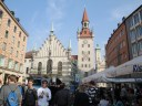 Here's a view from Marienplatz!