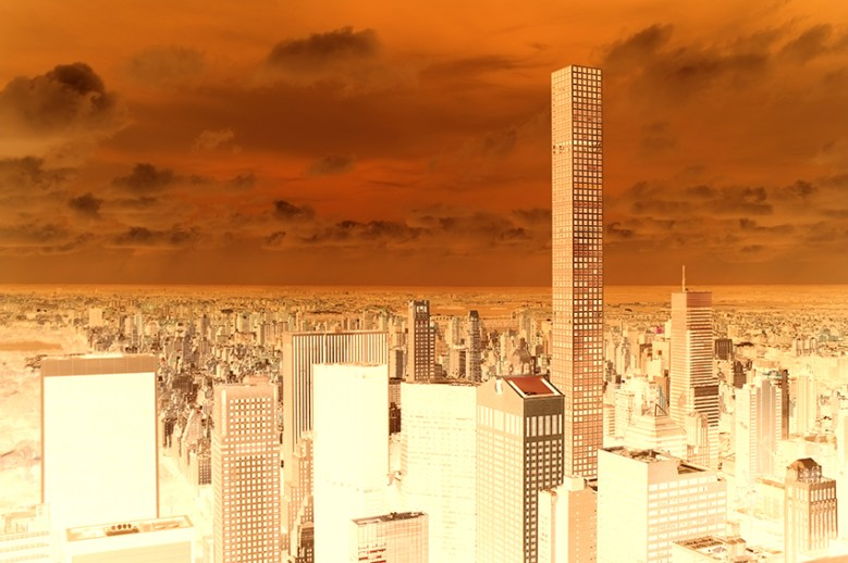 New York, living up at the 432 Park Avenue!