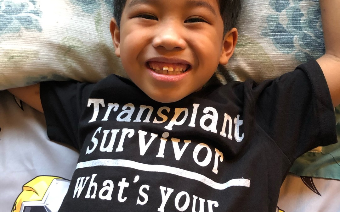 Isaac Recovering from Acute Liver Failure and Organ Transplant