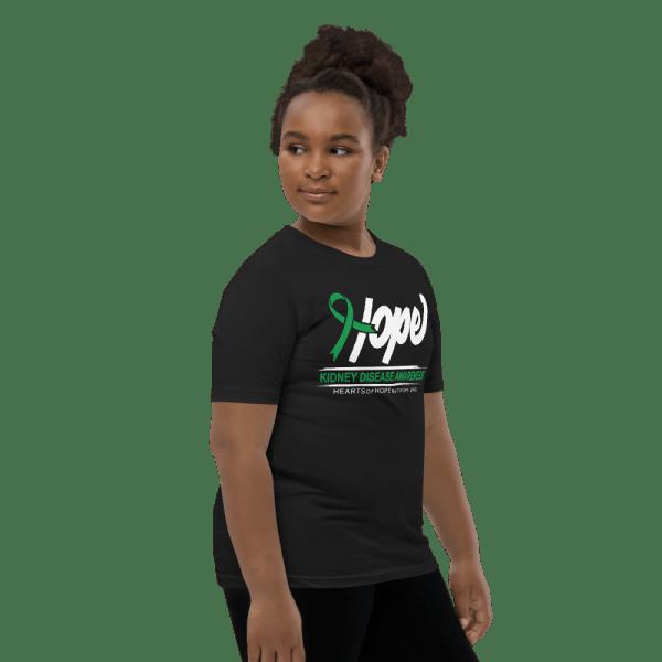Hope Ribbon Kidney disease awareness shirt