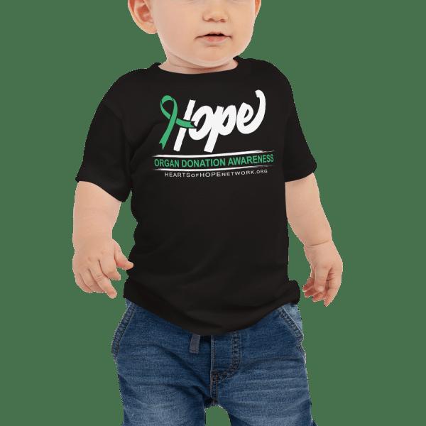 baby organ donation awareness shirt
