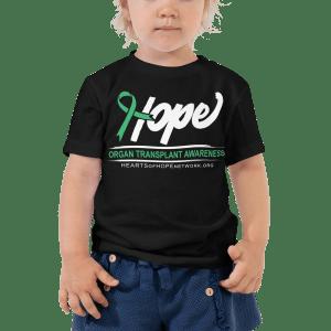 organ transplant awareness toddler shirt