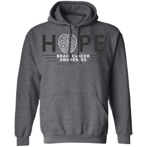 Hope Brain Cancer Awareness Hoodie