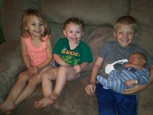 ben with siblings, Mosaic Klinefelters