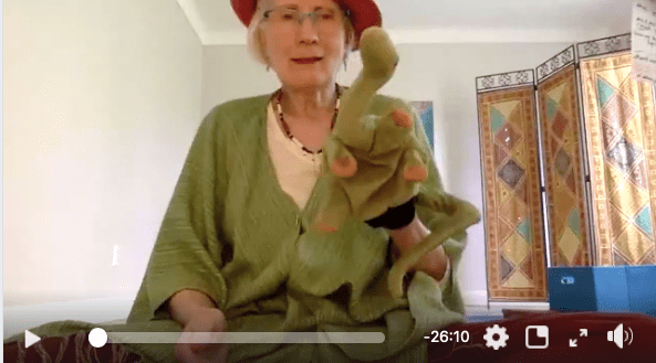 Mr. Greenie's Adventure to the 'Magical Rainbow Trail' – RSC Yoga Facebook Live Video