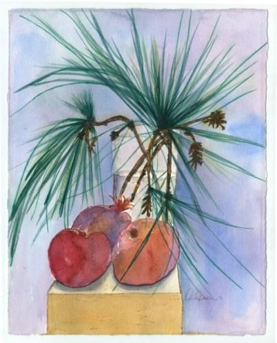Pine Kissed Persimmons