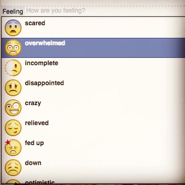 Facebook Overwhelm