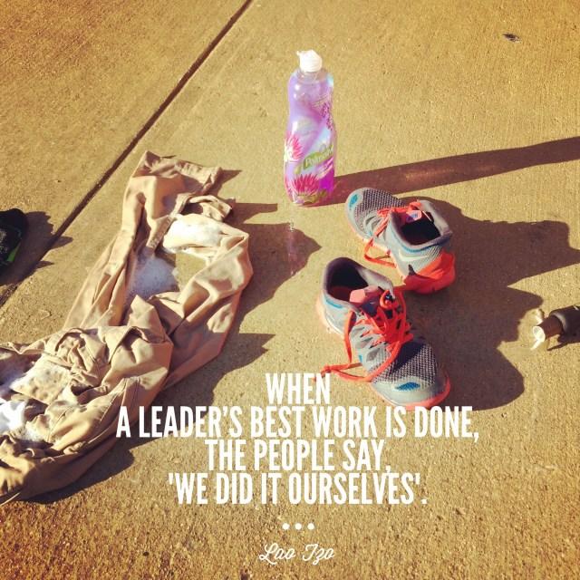 Lao Tzo Leadership quote