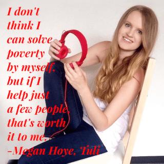 Megan Hoye, HeartStories square quote pic