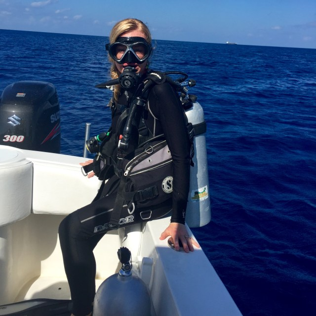 Crystal diving   HeartStories, Fear and the night dive