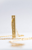 Necklace that Gives back Bar of Goodness | HeartStories