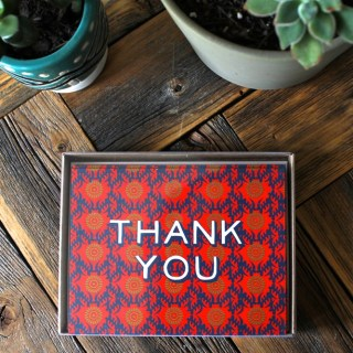 Marie Mae Thank you notes that give back