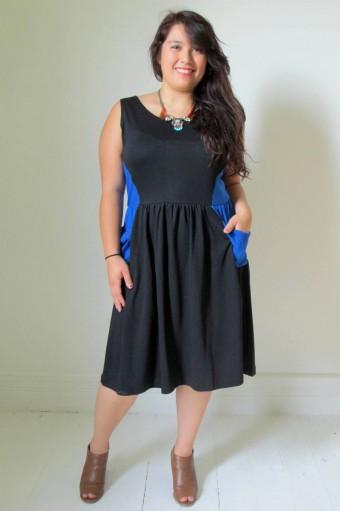 Liz Alig recycled dress Janaye | HeartStories
