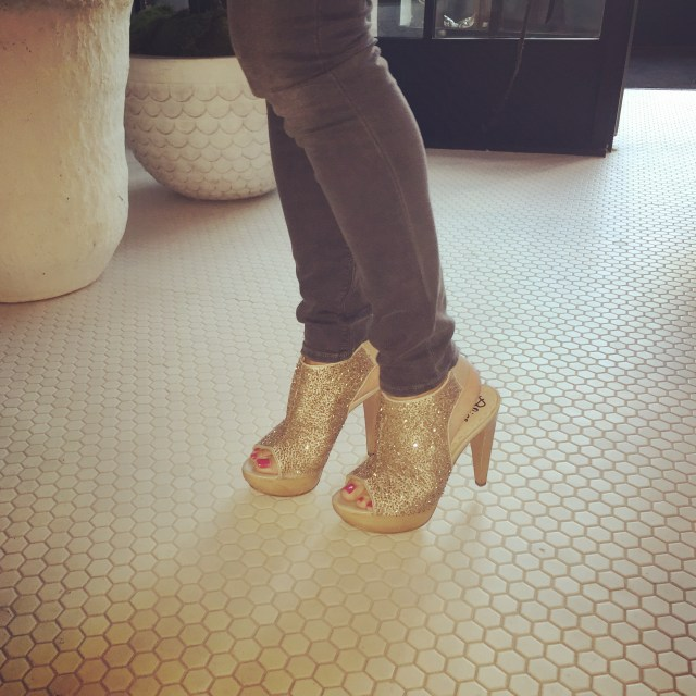 Put on your birthday shoes ~ Crystal Gornto | Heartstories