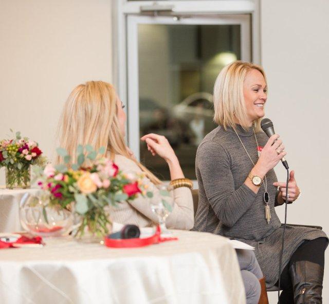 Crystal Gornto & Natalie Tuman heartstories GNO by Meggie Taylor