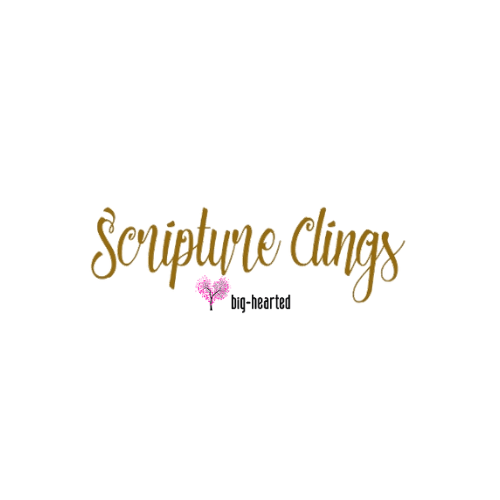 Scripture Clings (Big Hearted)