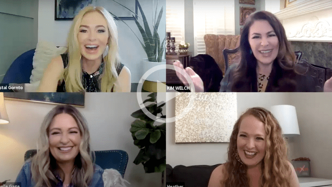 HeartStories Sisters on Your Sofa Crystal Gornto Kim Welch Michelle Gage Heather Oathout Interview