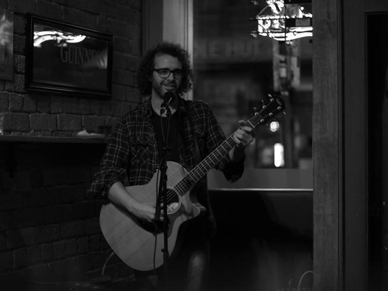 Lucas O'Connell @ Snug Bar (Photo Credit Kevin Murphy)