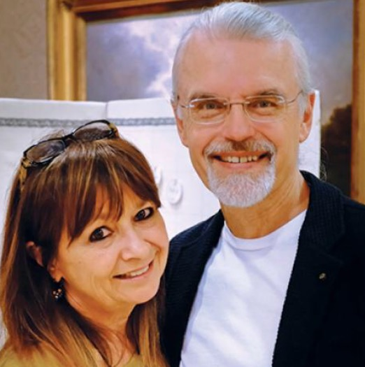 Maria and Rick, founders and owners of Zentangle, Inc.