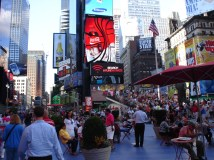 July: Times Square on the 4th