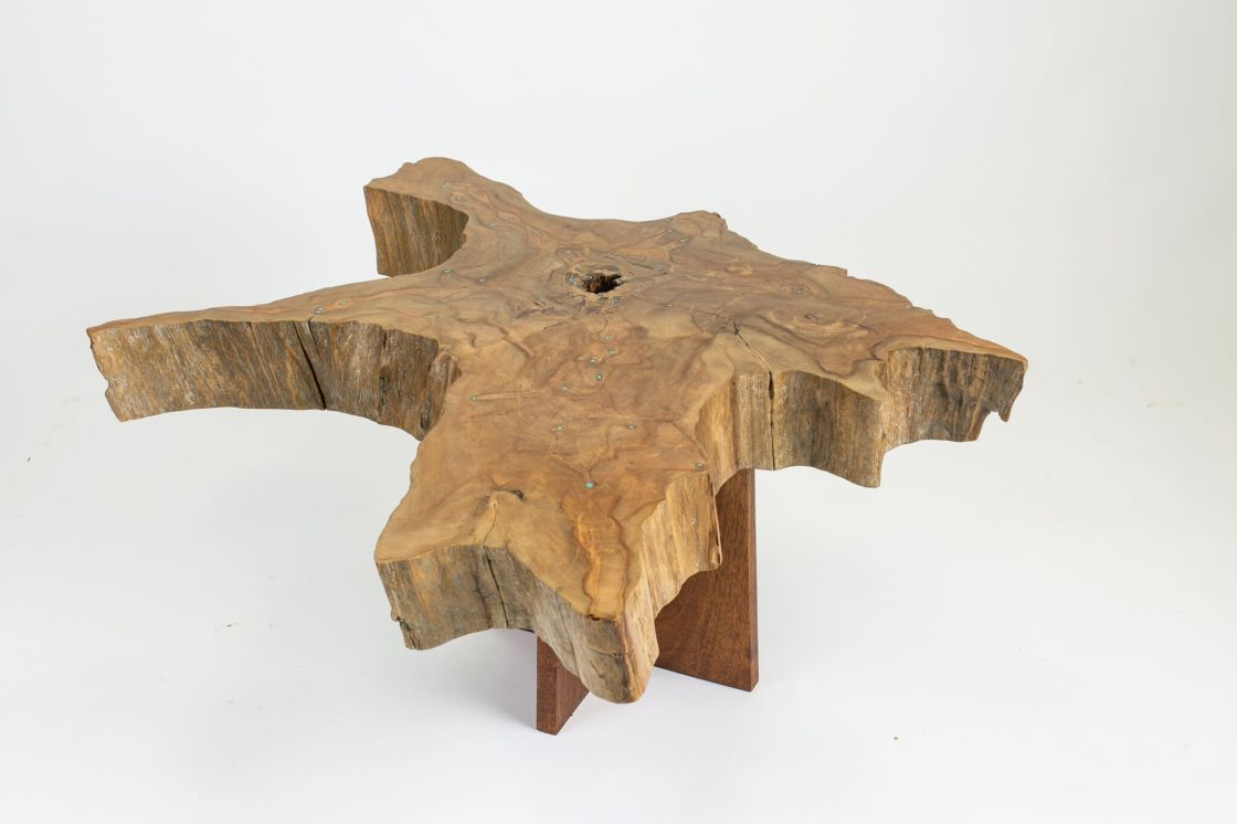 Cypress Stump Coffee Table