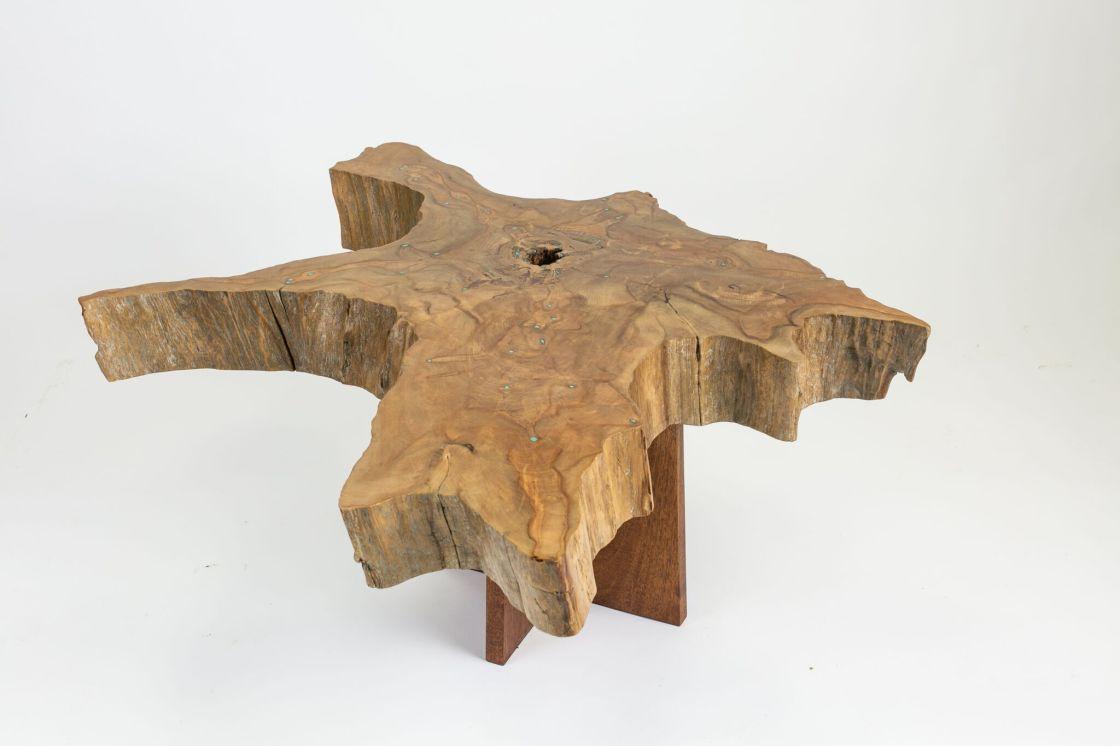 Cypress Stump Coffee Table