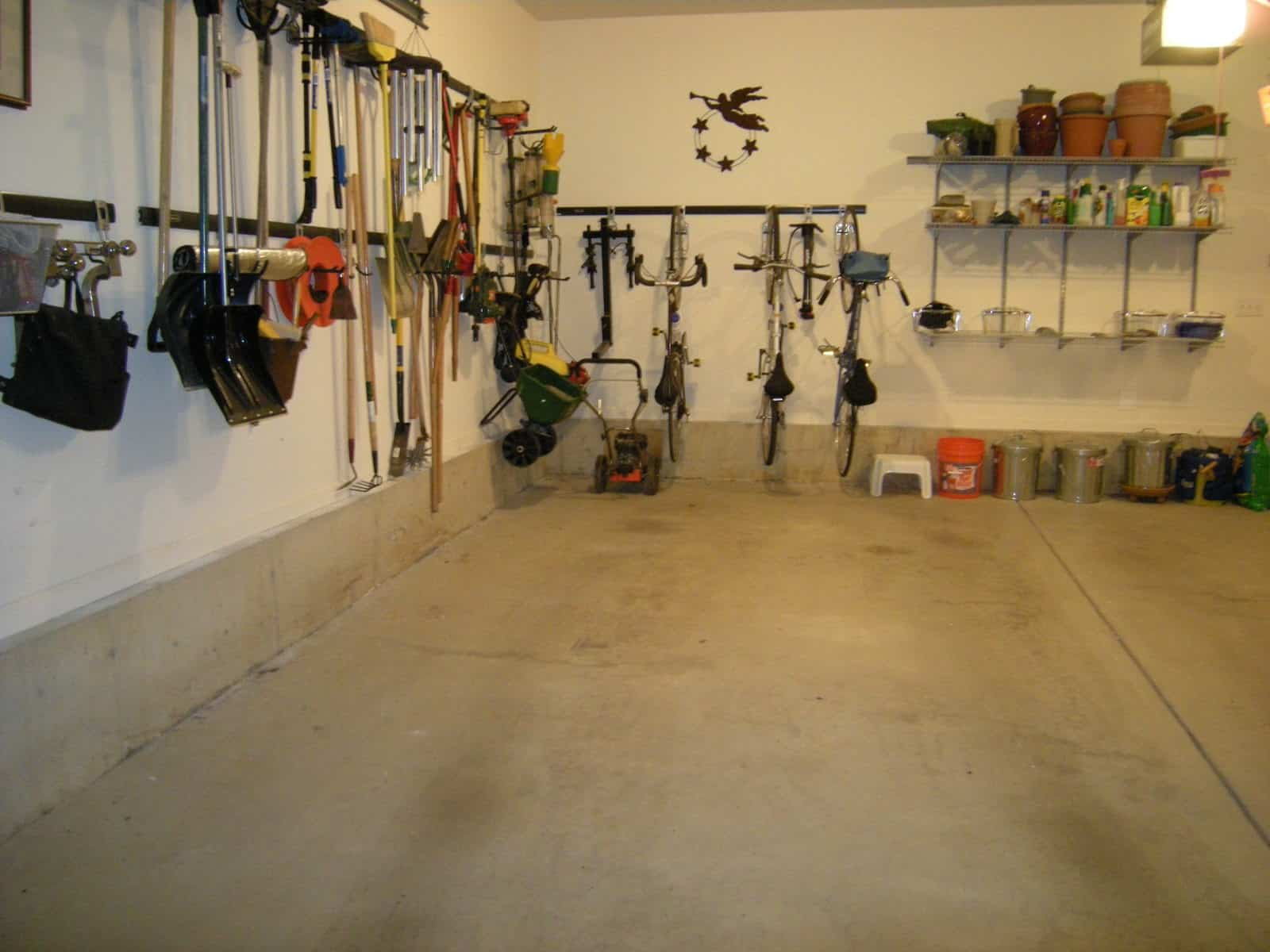 It's Perfect Weather to Organize the Garage   HeartWork ... on Organized Garage  id=30562