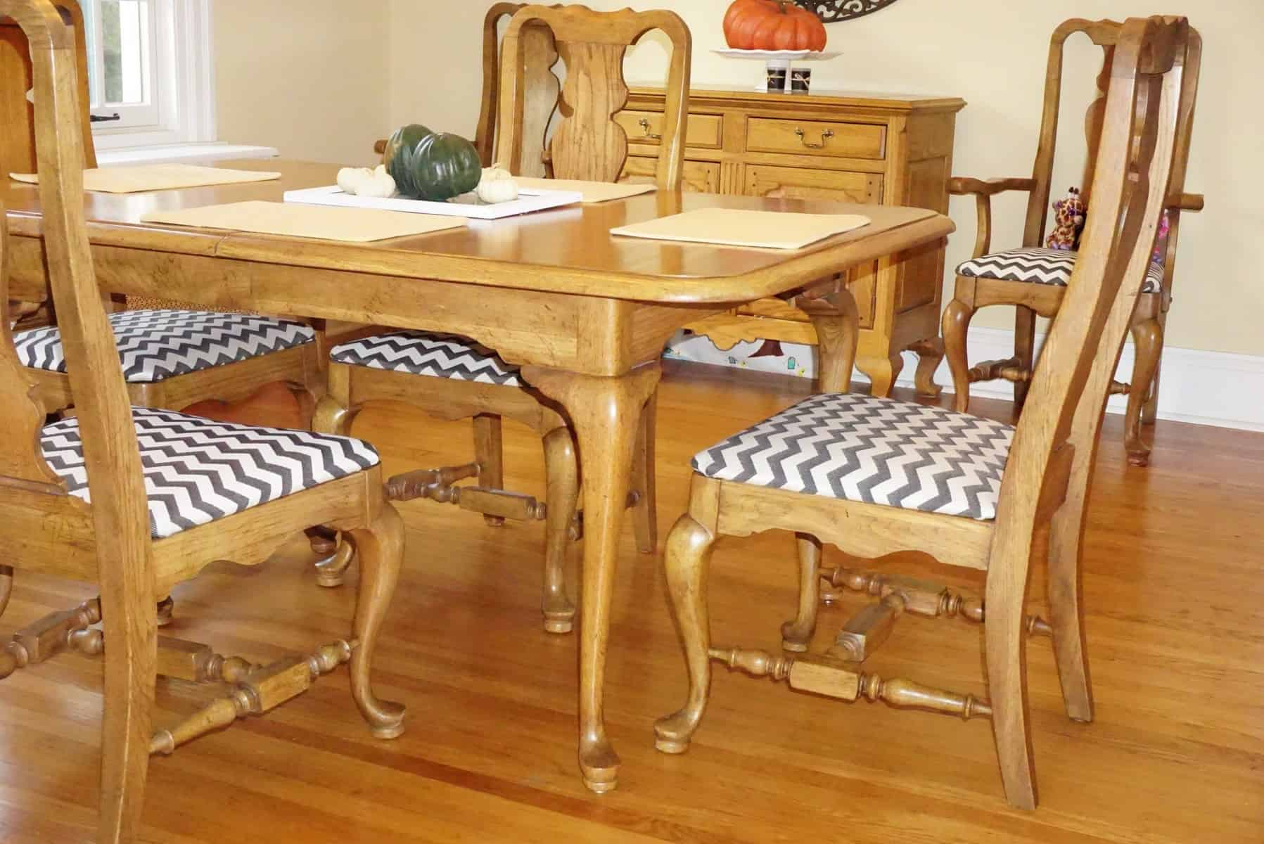 How To Reupholster Dining Room Chair Seat Covers