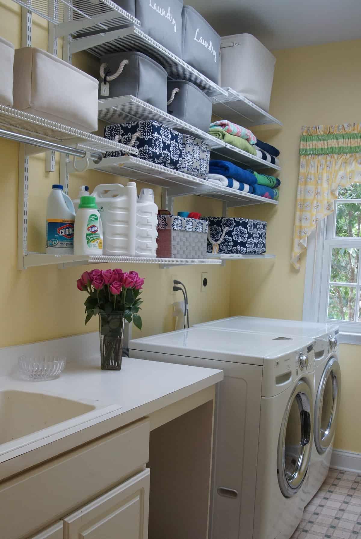 Maximize Laundry Room Storage and Organization | HeartWork ... on Laundry Room Organization Ideas  id=48232