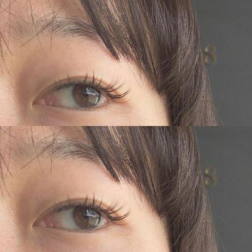 ..natural design.◯ mocha brown黒よりもブラウンの方がナチュラルに見えます♪.#HEARTY #eyesalonpro#eyelash #高崎美容室#トータルビューティーサロン