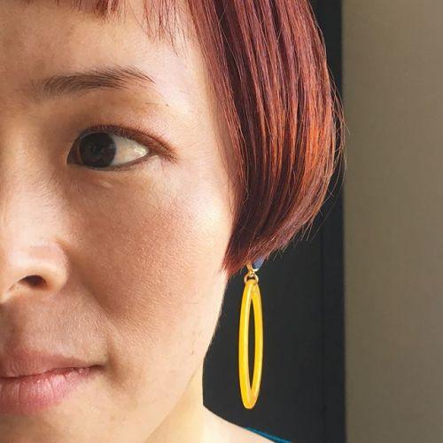 ..marron × apricot 髪色に合わせたまつげ人気です!!.#eyelash #jカール #apricot#marron #HEARTY