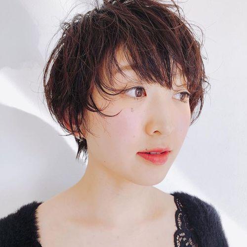 春はショートのお客様が増えてます!いつも東京からお越しのお客様!ありがとうございました。stylist:miyahara@hearty_miyahara #hearty#ショート#spring short