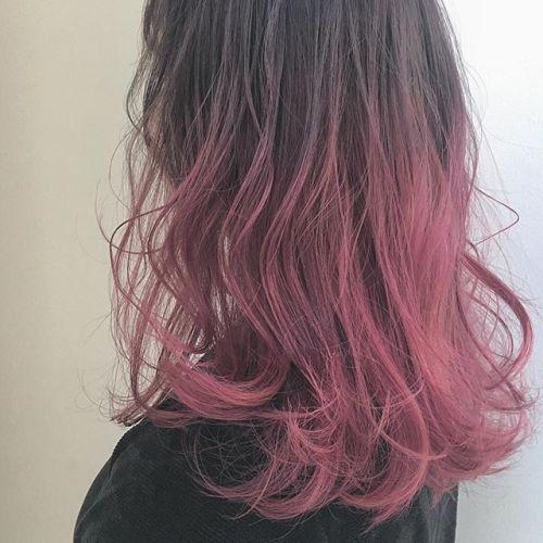 pinkboom stylist @creamy_cn #HEARTY #高崎 #高崎美容室 #宮下スタイル #ピンク #pink #グラデーション