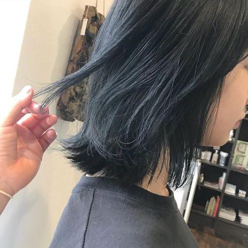 担当シオリ @shiori_tomii グレーでトーンダウン色落ちも透明感があってかわいいです#hearty#shiori_hair #高崎美容室#グレーアッシュ